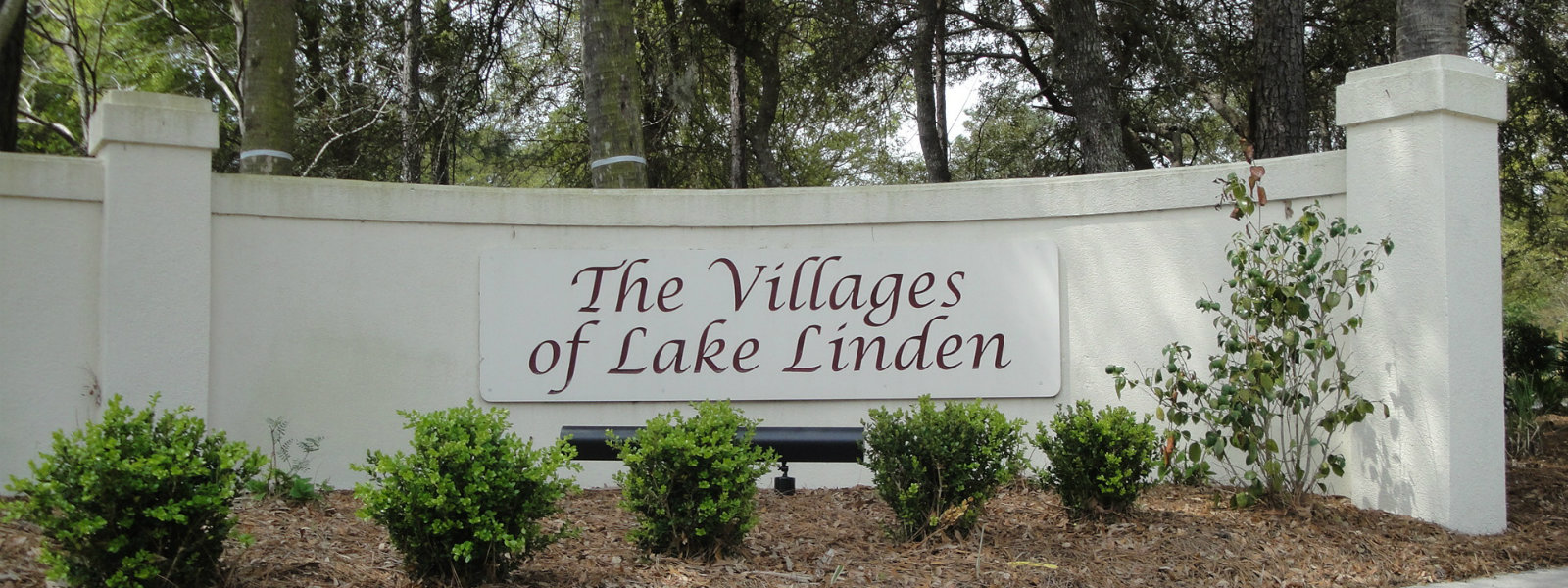 The Villages of Lake Linden 1600x600 Sign-2