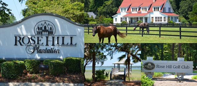 Rose Hill Plantation Homes For Sale L Call 843 707 2267